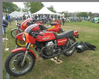 1976 Moto Guzzi 850 Lemans - Photo by Luxury Experience