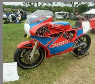 1984 Ducati TT1 - photo by Luxury Experience