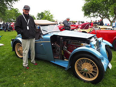 1932 MG F! Magna Stiles Special Threesome - photo by Luxury Experience