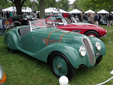 1937 BMW 328 Roadster - photo by Luxury Experience