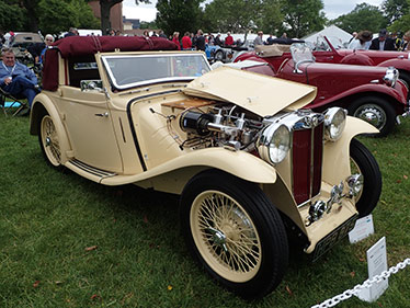1938 MG TA Tickford Drophead Coupe - photo by Luxury Experience