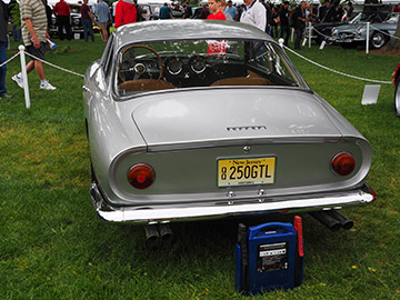 1963 Ferraru Lusso 250 GL - photo by Luxury Experience