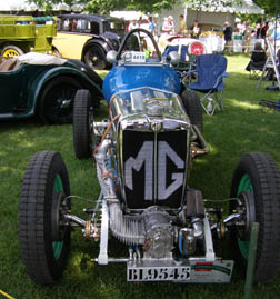 1935 MG PA Racer - Photo by Luxury Experience
