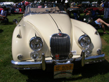 1958 Jaguar XK-150 Drophead Coupe - Photo by Luxury Experience