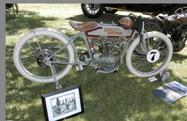 1914 Harley-Davidson Model K - photo by Luxury Experience