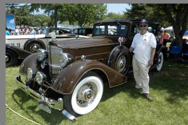 1934 Packard Model 756 Club Sedan - photo by Luxury Experience