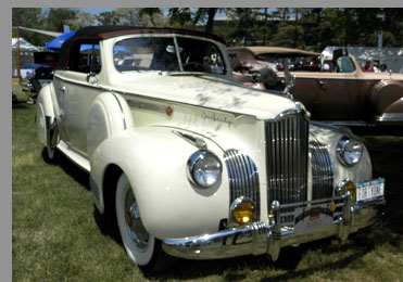 1941 Packard Convertible - photo by Luxury Experience