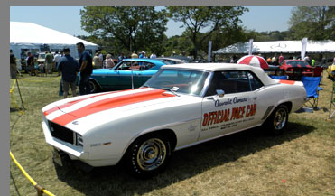 1969 Chevrolet Camaro RS/SS Pace Car - photo by Luxury Experience