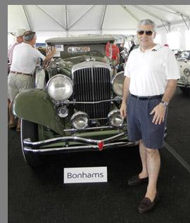 Bonhams Collector's Motor Car Auction - Edward F. Nesta -photo by Luxury Experience