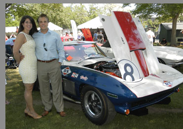 1967 Chevrolet Corvette Coupe - Glen and Lucia Spielberg - photo by Luxury Experience