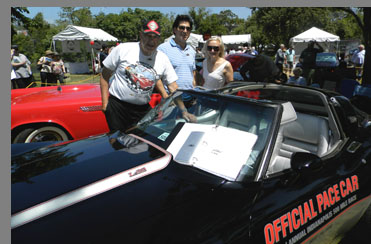 1978 Chevrolet Corvette Indy 500 Pace Car t-top - Richard Barone - phogo by Luxury Experience
