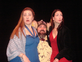 The Merry Wives of Windsor - Mistress Page, Falstaff, Mistress Ford