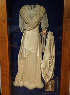 1910 Wedding Gown - National Automobile Museum - Reno, Nevada - photo by Luxury Experience