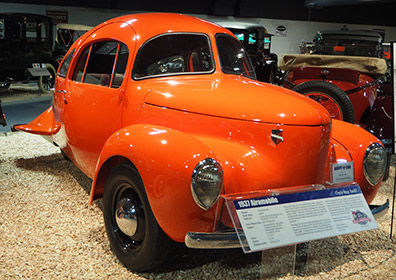 1937 Airmobile - National Automobile Museum - Reno, Nevada - photo by Luxury Experience