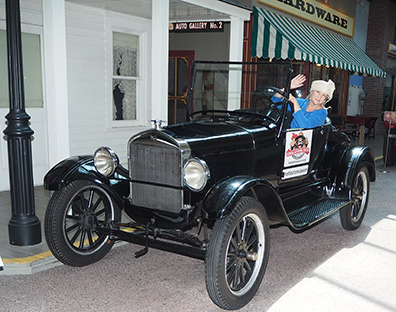 Debra C. Argen at National Automobile Museum - Reno, Nevada - photo by Luxury Experience