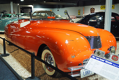 1941 Lana Turner Chysler Newport - National Automobile Museum - Reno, Nevada - photo by Luxury Experience