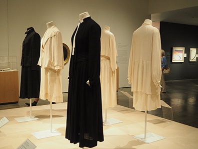Georgia O'Keefe - Clothes - exhibit at Nevada Museum of Art - photo by Luxury Experience