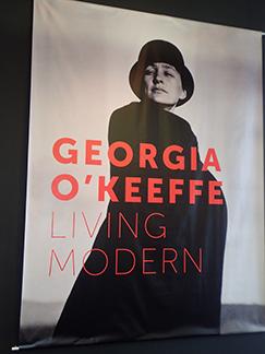 Georgia O'Keefe exhibit at Nevada Museum of Art - Reno, Nevada