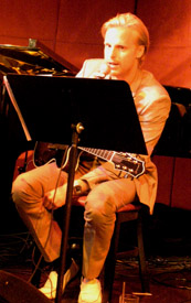 Andreas Oberg at Jazz Standard