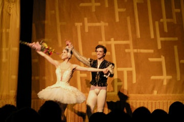 ABT Principal Dancers Polama Herrera and Angel Corella