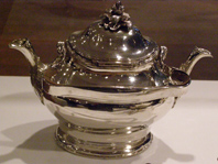 Swedish Silver: Five Centuries of Swedish Silver - Double Spout Teapot