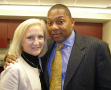 Jazz at Lincoln Center Orchestra with Winton Marsalis - Debra C. Argen and Wynton Marsalis