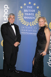 Edward F. Nesta and Debra C. Argen at British Travel Awards 2007