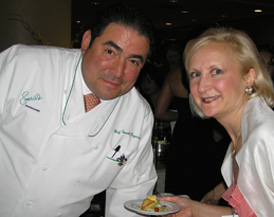 Emeril Lagasse and Debra C. Argen at the James Beard Awards 2006