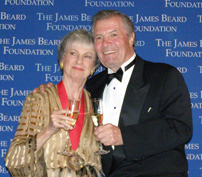Barbara Kafka and Jacques Pepin