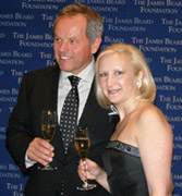 Wolfgang Puck and Debra C. Argen
