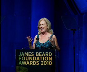 James Beard Foundation President Susan Ungaro Opening 2010 Awards Ceremony