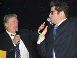 Christopher McDonald and Billy Harris at Spirt Awards 2008