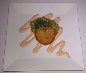 Crab Cake - 75 Main Restaurant Lounge Club, Southampton, Long Island, New York