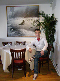 Owner Zach Erdem - 75 Main Restuarnt and Lounge - Southampton, NY