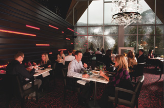 Altitude Seafood and Grill - Lounge Restaurant at Le Casion de Mont-Tremblant, Canada