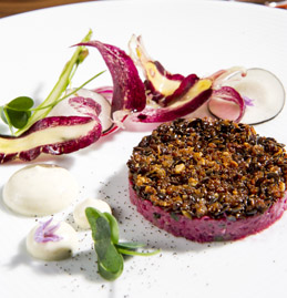 Steak Tartar - photo by evan Sung
