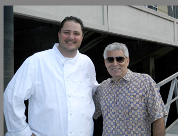 Chef Adamo and Edward Nesta -photo by Luxury Experience