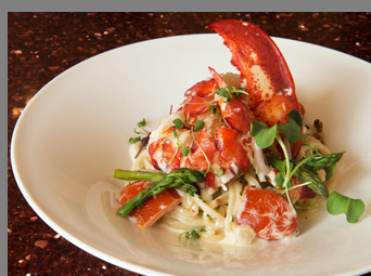 Lobster Papardelle - by Chef Adamo  - photo by Chef Adamo