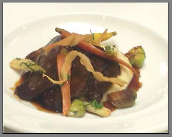 Pot Roast - Chef Frederic Kieffer - Artisan Restaurant, Tavern & Garden, Southport, CT, USA