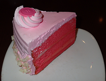 Pink Champagne cake -Executive Pastry Chef Kayline Johnson -  photo by Luxury Experience