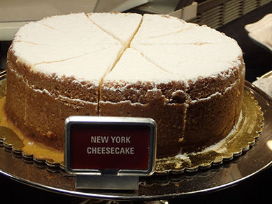 Cheesecake - Executive Pastry Chef Kayline Johnson - photo by Luxury Experience