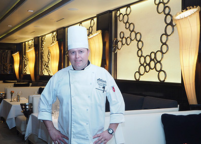 Chef Darren Stanley - photo by Luxury Experience