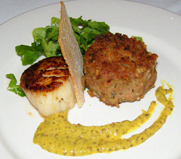 Bacco Boudin and Scallop -Executive Chef Chris Montero