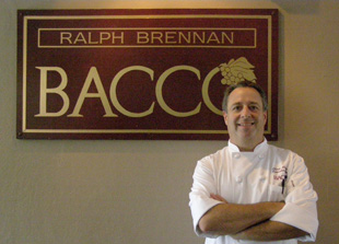 Bacco's Executive Chef Chris Montero