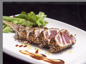 seasame Crusted Tuna- Ben and Jack's Steak House, NYC