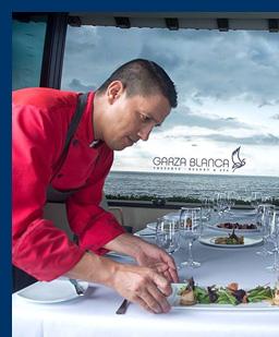 Chef Fernando Pulido - Blanca Blue Restaurant & Lounge - Garza Blanca Resort, Puerto Vallarta, Mexico