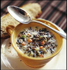 Culinary Institute of America Holiday Boot Camp - Turkey and Wild Rice Soup