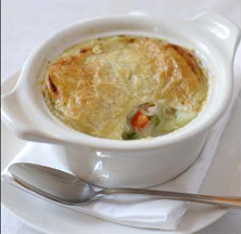 Culinary Institute of America Holiday Boot Camp - Turkey Pot Pie