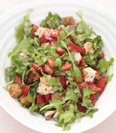Strawberry Chicken - Chef Scott Uehlein - Canyon Ranch