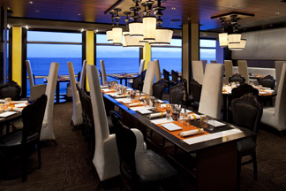 Qsine Restaurant - Celebrity Cruises - Eclipse